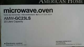 AMERICAN HOME MICROWAVE OVEN (AMW-GC23LS) 23 Liters Capacity