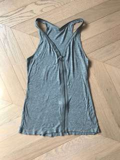 T by Alexander Wang zip vest top 拉鏈背心衫