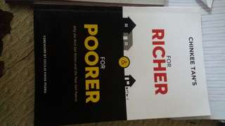 Chinkee Tan book 'FOR RICHER AND FOR POORER'