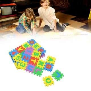 [PO790]Colorful Puzzle Kid Educational Toy A-Z Alphabet Letters