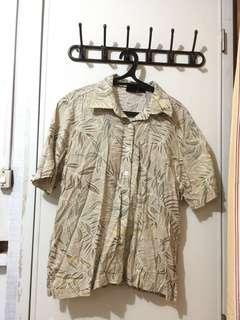Hawaiian vibe polo shirt