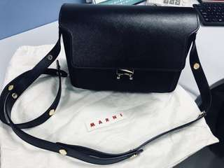 Marni handbag in black color