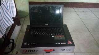 Msi GL62 6QE i5 6700HQ 8gb ddr4 128gb ssd 1tb  gtx 950m