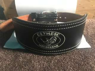 Olympic Weight Lifting Belt