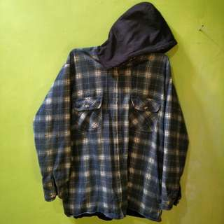 Port Louis Flannel with Hoodie