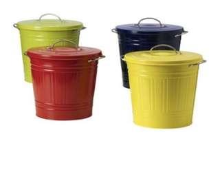 Ikea Knodd Metal bins
