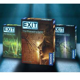 Exit: The Game Board Game