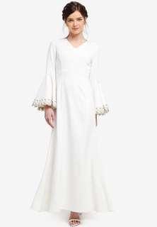 Zalia Mermaid Dress (FOR RENT)