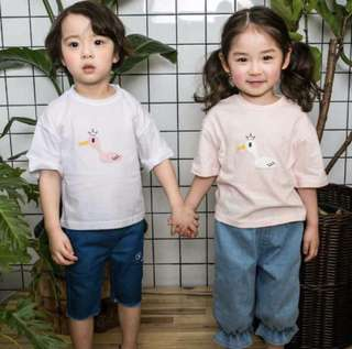 🌟IN STOCK🌟 Good Quality korea kids t shirt