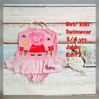 Peppa pig swimwear