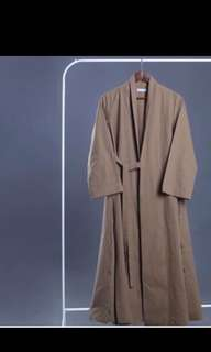 Restu anggraini long outer coat