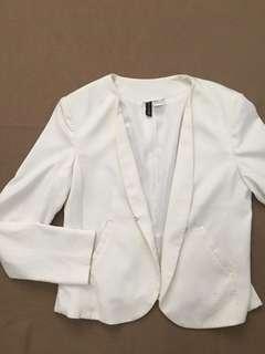 H&M Dirty White Blazer