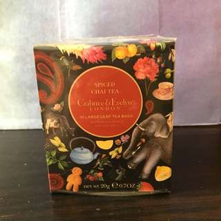 Crabtree & Evelyn spiced chai tea