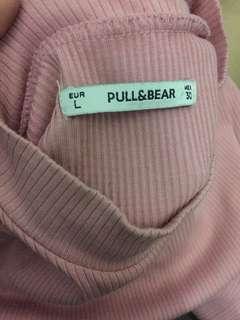 pull&bear turtleneck tshirt