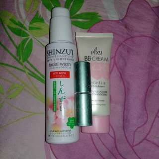 Take All..pixy bb cream,lipstik dan shinzui