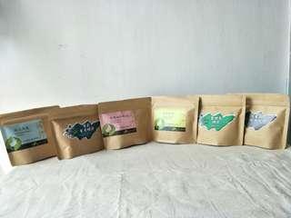 Tea bag teas from Taiwan