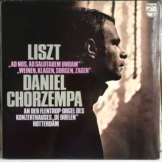 Daniel Chorzempa plays Liszt Organ Music PHILIPS 6500215