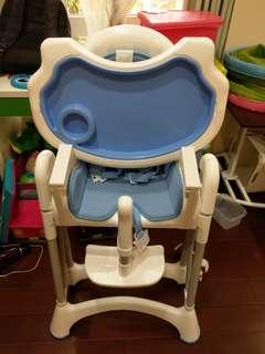 【二手】Myheart 兒童折疊式餐椅