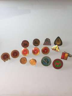Metal and Enamel Pins (Collectibles)