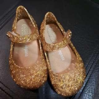 mini melissa campana gold (size6)