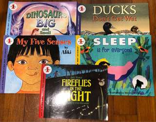 21 Set Kids Read-and-Discover Books