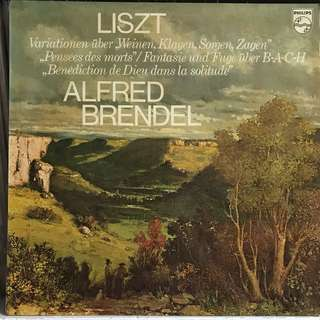 Alfred Brendel plays Liszt Piano Music PHILIPS 9500286