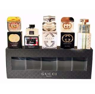🚚 ♥️VDay! Gucci Beauty Minature Set