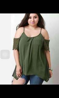 Plus size top's
