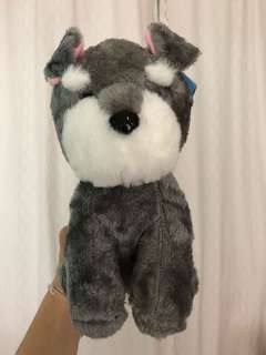 Cute dog plushie