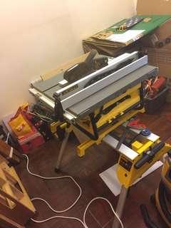 Dewalt Table Saw Portable DW745 & Stand 740