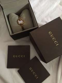 5k RUSH!! Free sf Gucci watch with box authentic 100%