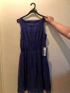 SimplyVera Blue Dress