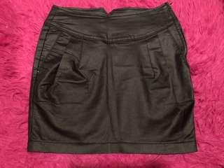 GUESS highwaist leather Skirt