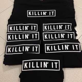Killin' It Statement Tee Shirt
