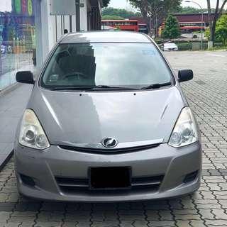Toyota WISH Flash Deal! Grab Friendly*