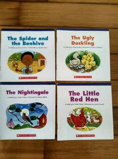 Everyday Book Box Scholastic Story Books