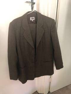 Fletcher Jones Brown Tweed Suit