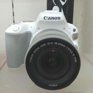Canon Eos 200D DP 0% Cukup Admin 199.000 Tanpa Kartu Kredit