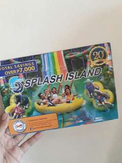 SAVE PHP7000 SPALSH ISLAND COUPON