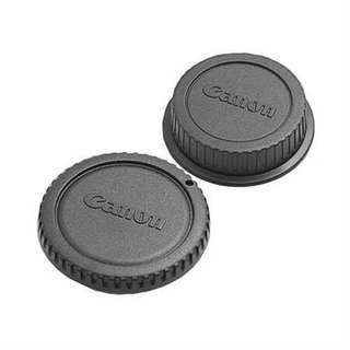 Rear and Body Cap For Canon