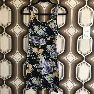 Forever 21 Body-con Floral dress
