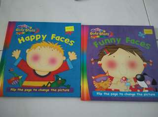 Brand new funny faces and happy faces  (2PCs)