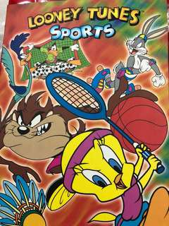 Looney Tunes Sports phone cards