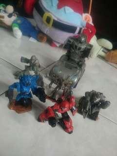 Combo All Mini transformer  original HASBRO