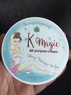 K Magic by Korina Sanchez all purpose cream