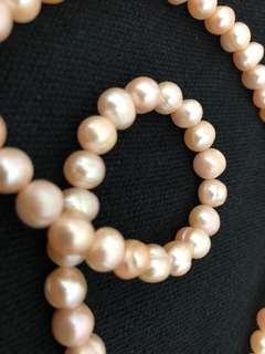 Original Pearl Neclace (Pearl White/Light Pink)