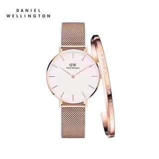 Daniel Wellington Watch 32mm petite stainless watches + cuff