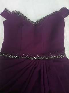 For sale: Purple ball gown