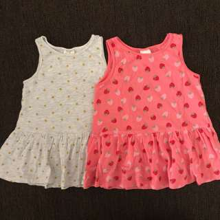 Set dress H&M 4-6m