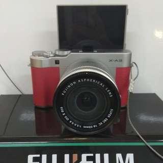 Fuji Film X-A3 DP 0% + Free Instax Mini 8 Cukup Admin 199.000 Tanpa CC